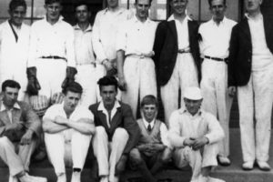 Kinleith Mill Cricket Club, 1920s.