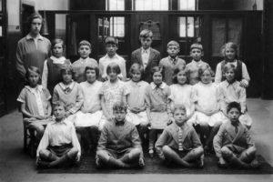 Juniper Green School, c1900.