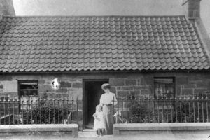 Balerno Post Office, c1900.