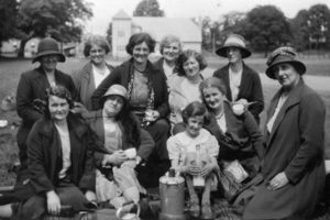 Currie Women's Guild, 1920s.