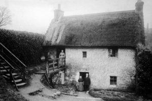 Burnside Cottages, 1900.