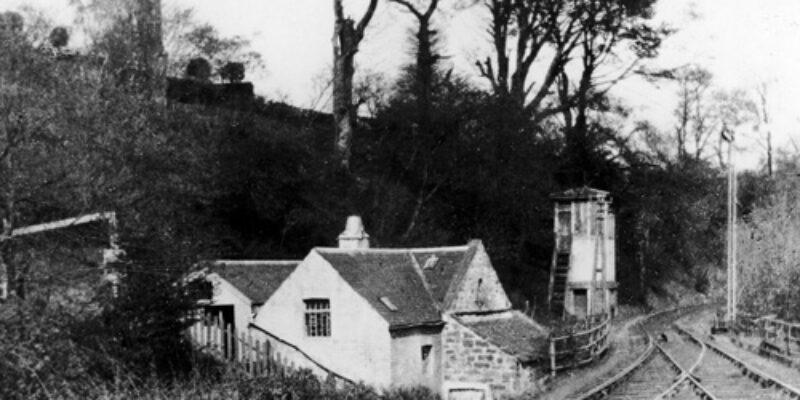 Watt's Snuff Mill, Juniper Green, 1930s.
