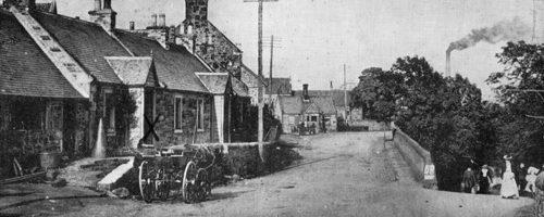 Currie Village, 1902.