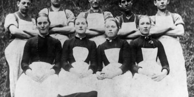 Kinleith Mill Staff, 1880s.